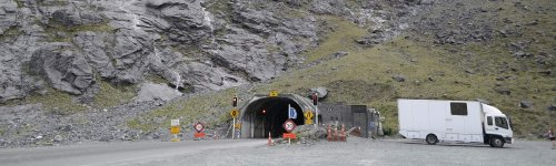 Homer Tunnel – made by hands