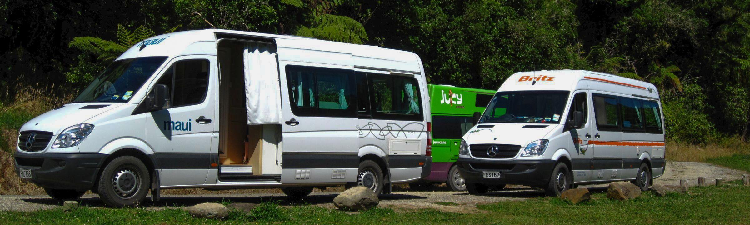 Camperwagen auf Neuseeland