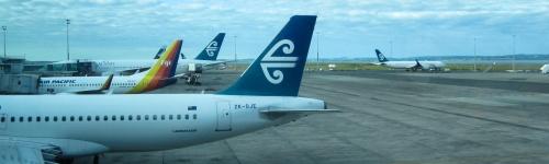 Air New Zealand, fliegen mit Geschmack