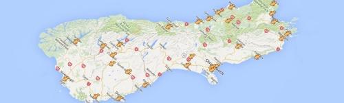 i-Sites – Übersicht und Karte der Südinsel