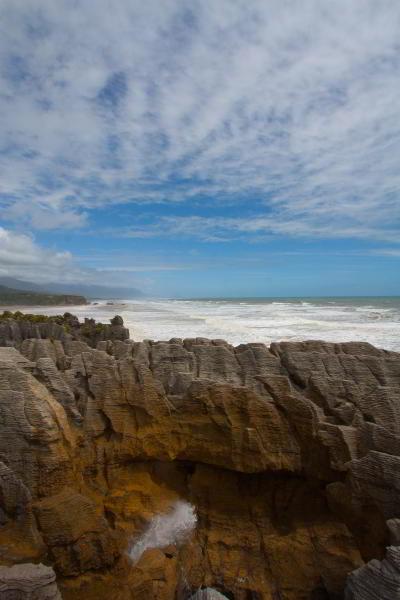 Blowhole und Pancake Rocks im Paparoa Nationalpark