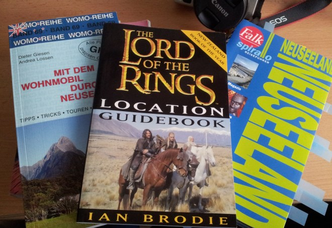 Buch Location Guidebook Lord of the rings