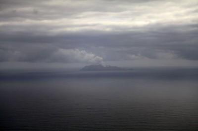 White Island in der Ferne