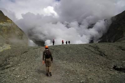 Der Weg zum Vulkankrater
