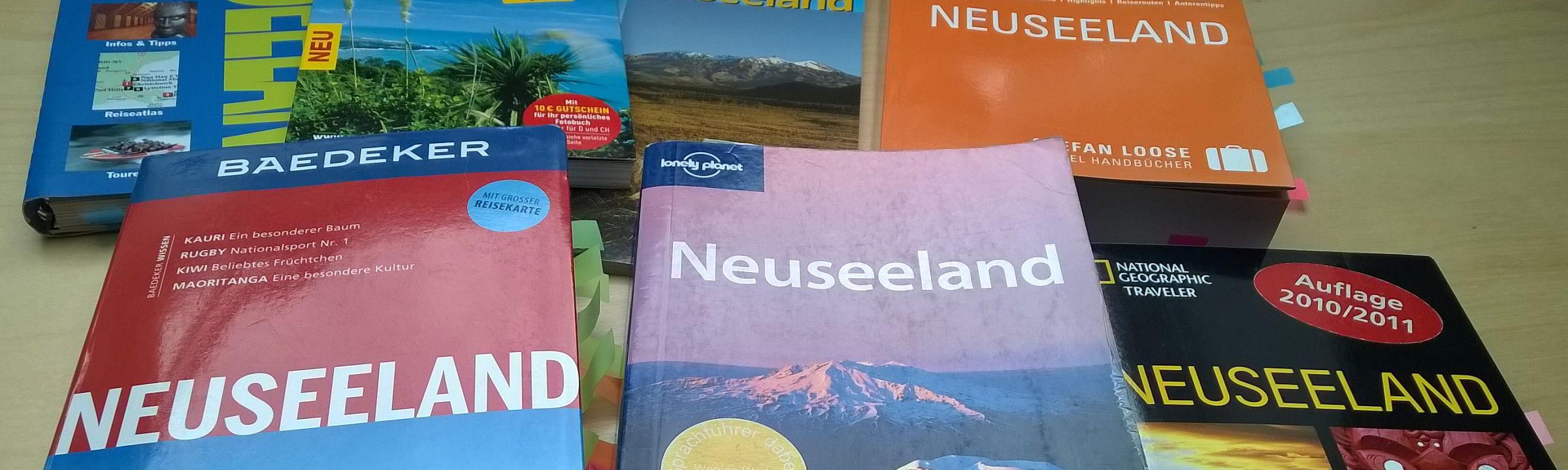 Universelle Reiseführer für Neuseeland