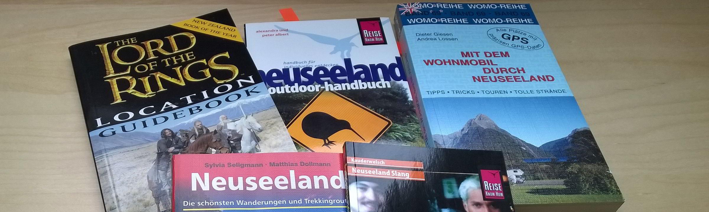 Spezielle Reiseführer für Neuseeland
