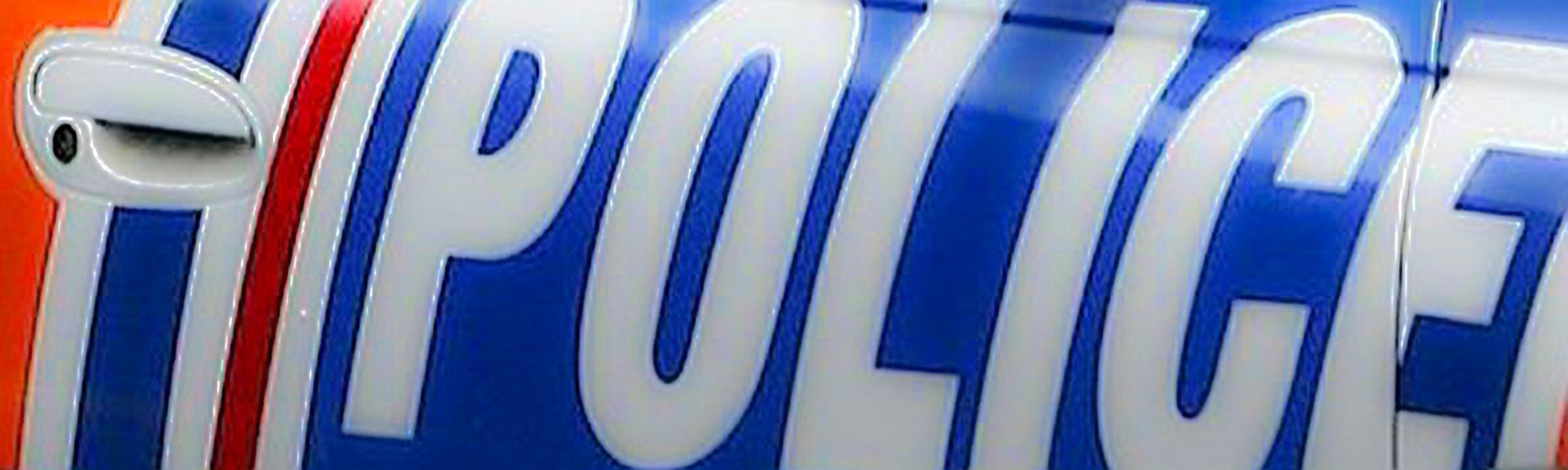 Polizei Auto auf Neuseeland
