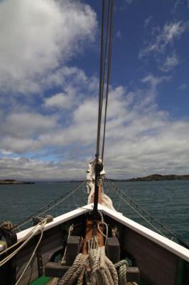 Russell in Sicht - zurück zum Heimathafen