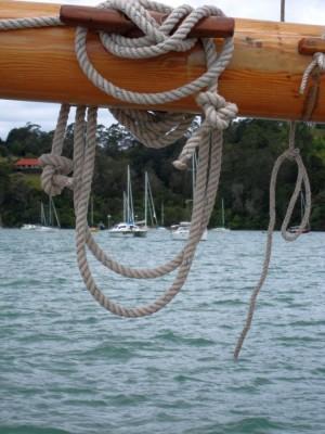 Segelschiffe im Hafen von Russell