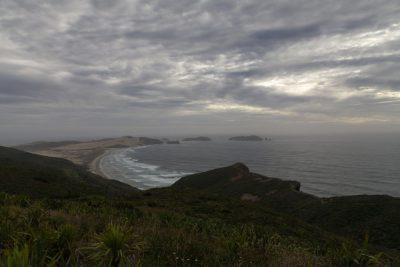 Aufbruch und Abschied von Cape Reinga