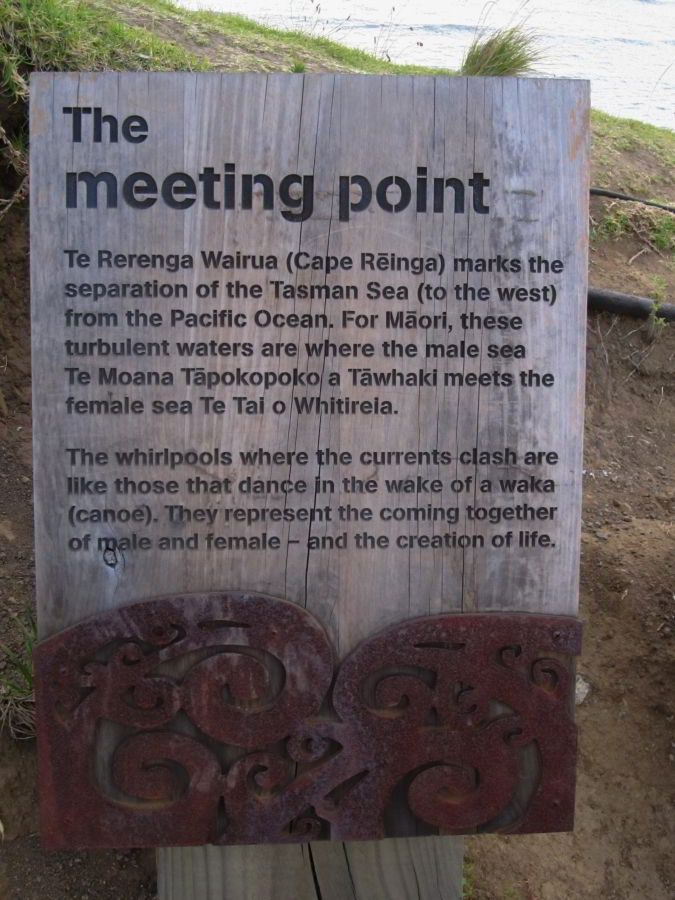 Maori Tafel an Cape Reinga