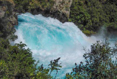 Huka Falls jetzt erst recht