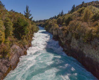 Huka Falls - das tosende Ende