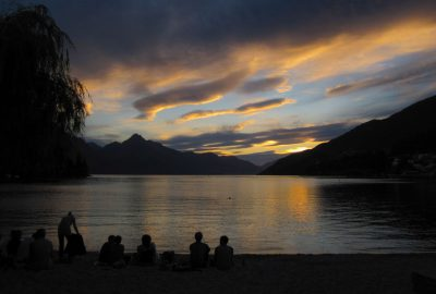 Queenstown und Lake Wakatipu