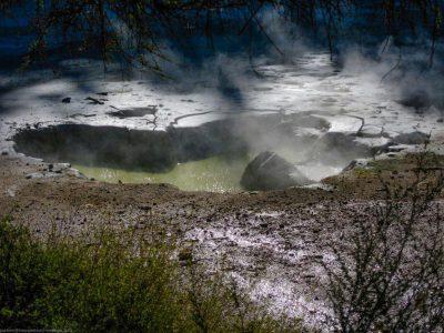 Die Erde verändert sich auch heute noch nach und nach im Thermal Park