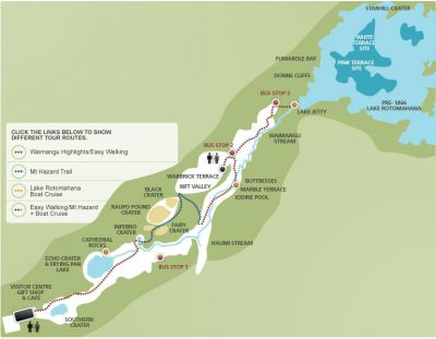 Waimanug Volcanic Valley Parkübersicht