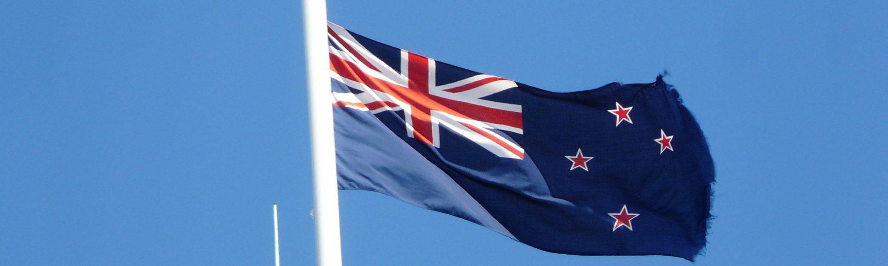Neuseelands Nationalfahne