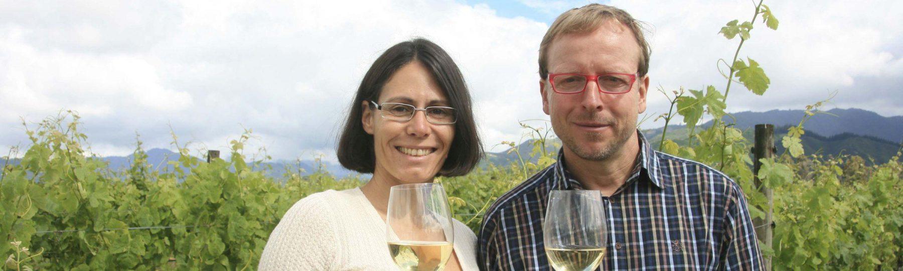 Weinlandschaft auf Neuseeland