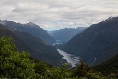 Doubtful Sound von oben - grandios
