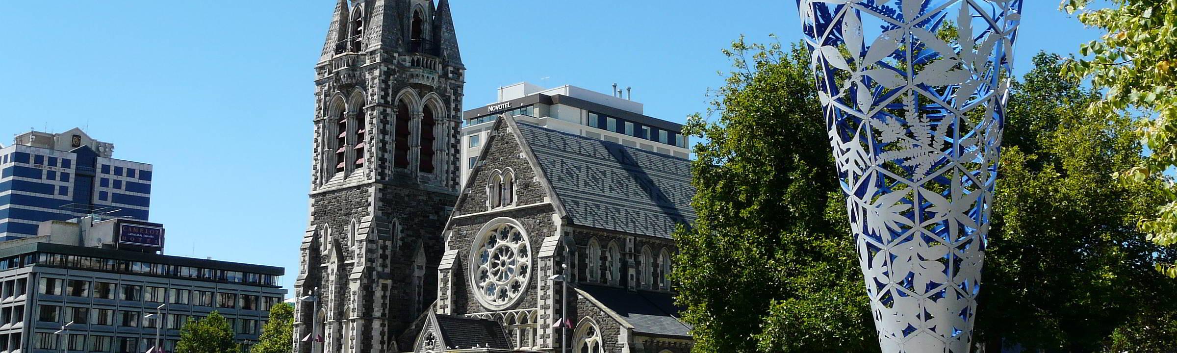 Eine neue Kathedrale für Christchurch