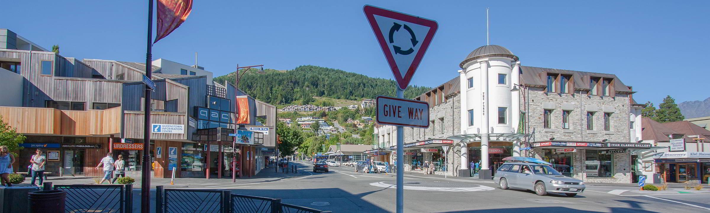 Immer im Kreis herum – Roundabouts in New Zealand