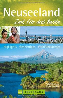 Buchtitel Neuseeland Zeit für das Beste von Anja Schönborn