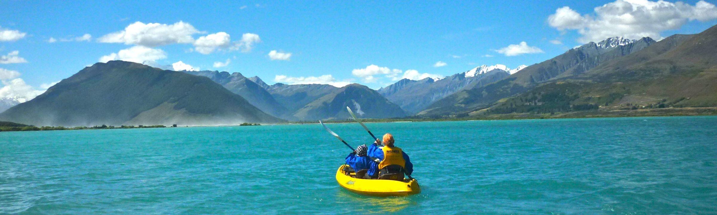 Kaja-Tour auf Lake Wakatipu Neuseeland erleben