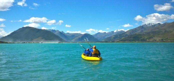 Kajak-Tour auf dem Lake Wakatipu