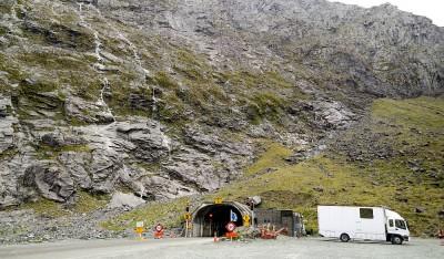 Homer Tunnel - Südinsel Neuseeland