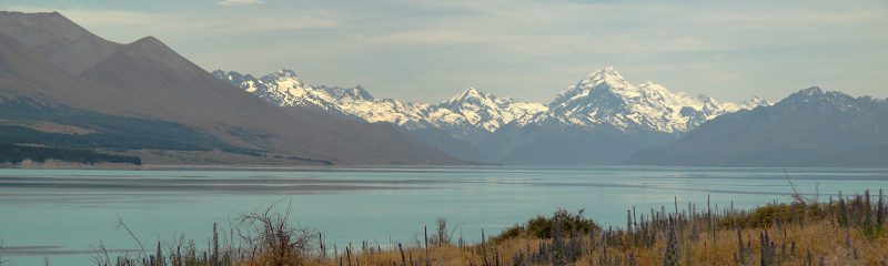 Mount Cook mit den Southern Alps