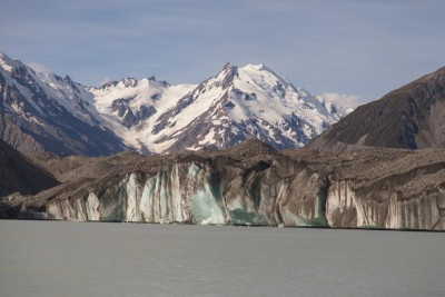 Das Ende des Tasman Gletschers