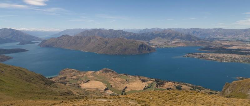 Aussicht auf Lake Wanaka