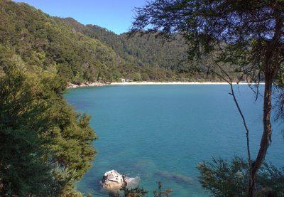 Eine Bucht im Abel Tasman National Park