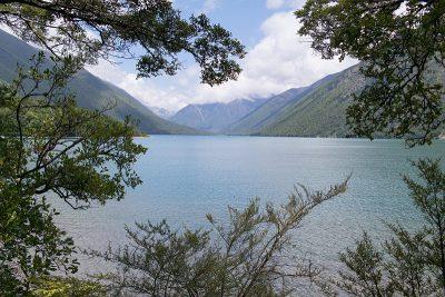 Wunderschöner Blick über Lake Rotoiti