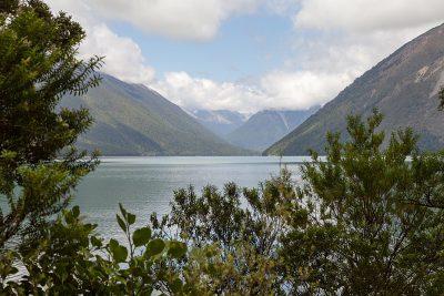 Blick über Lake Rotoiti