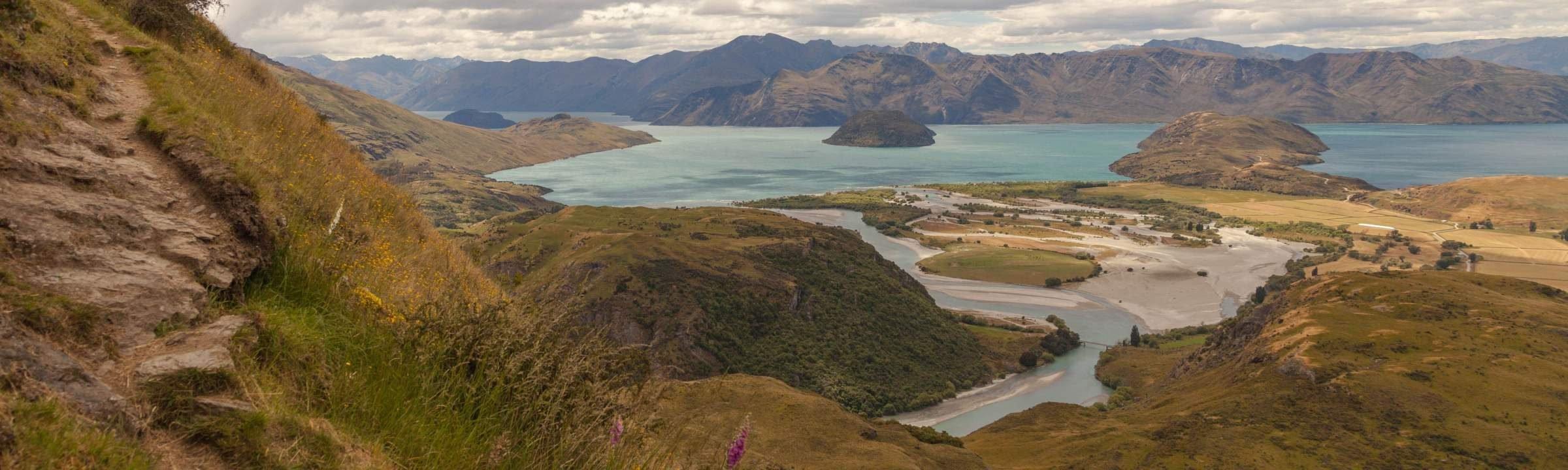 Rocky Mountains Walk auf Neuseeland