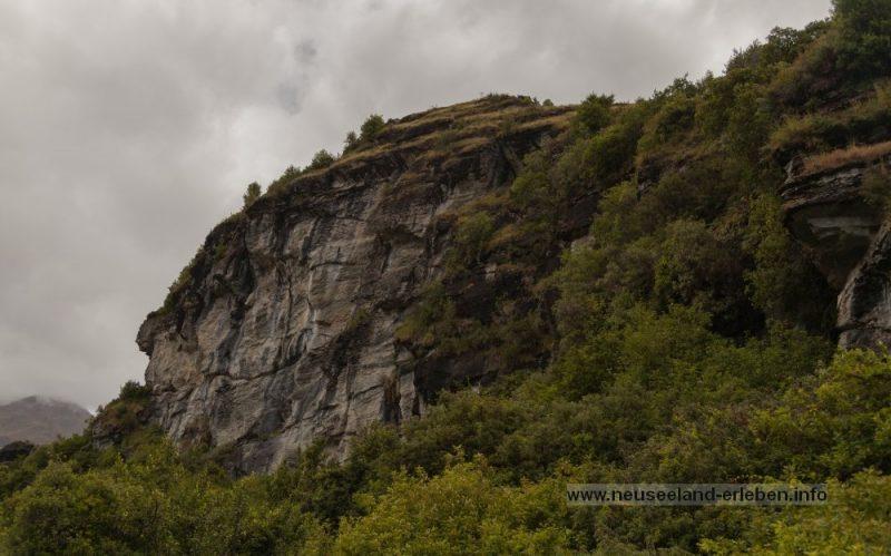 Steinlandschaften in Hügel