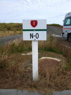 0 Kilometer des State Highway No. 1