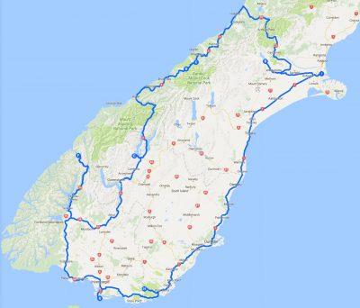 Ziele für 2018 auf der Südinsel