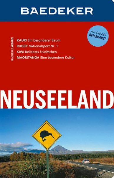 Cover Baedecker Neuseelad