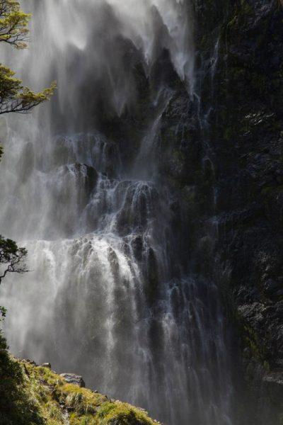 Devils Punchbowl Wasserfall auf Neuseeland