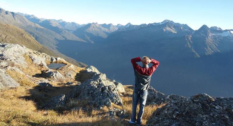 Götz Nitsche Bonusland Blick auf Neuseeland