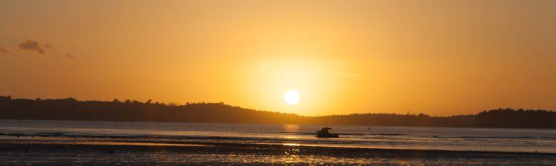 Sonnenaufgang bei Orewa Neuseeland