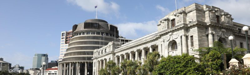Regierungsviertel in Wellington