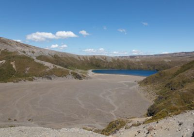DIe Tama Lakes im Tongariro National Park