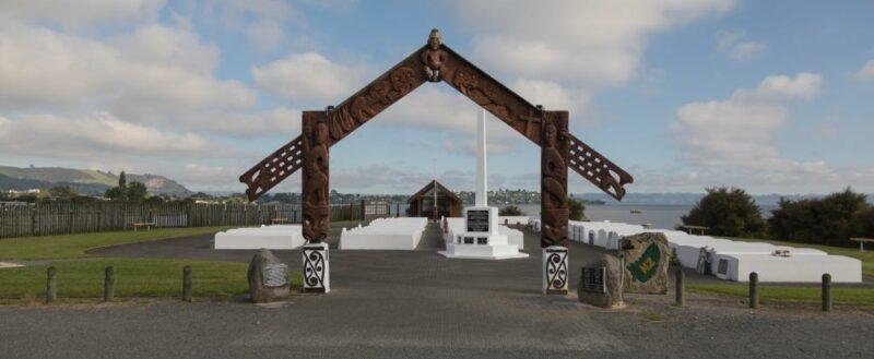 Maorischer Friedhof in Rotorua