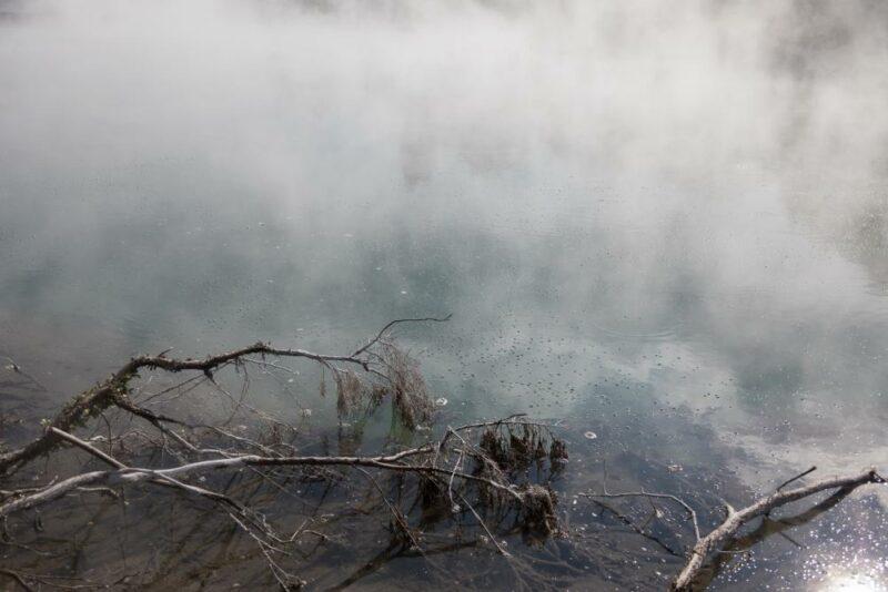 Hot Water im Kuirau Park
